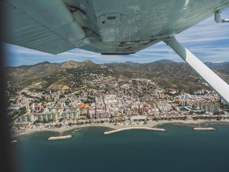 Godersi il volo sul Mediterraneo