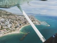 Volare in aereo sulla Costa del Sol