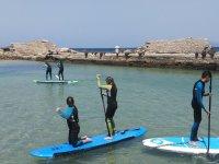 Alquiler equipo de paddle surf en Tarifa 3 horas