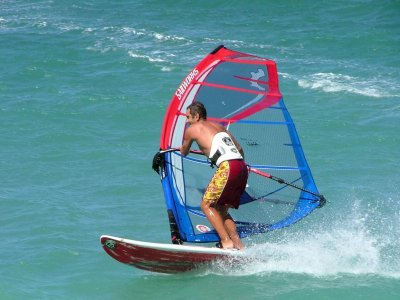 Blue Explorers Windsurf