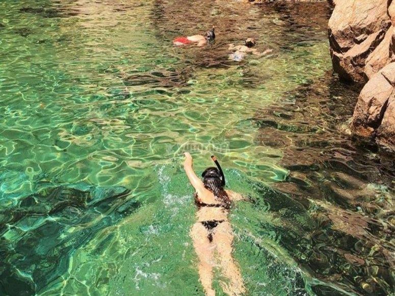Snorkel en la Costa Brava