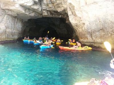 Paseo en kayak desde playa Las Negras y snorkel 3h