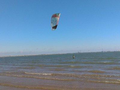 El Pto de StaMaría的风筝冲浪课程3小时