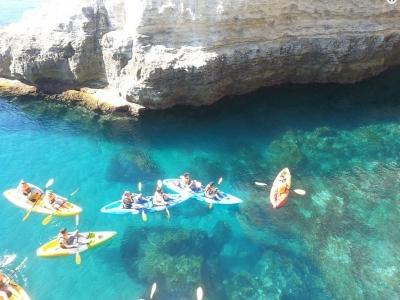 Tour en kayak y snorkel desde Las Negras 3h niños