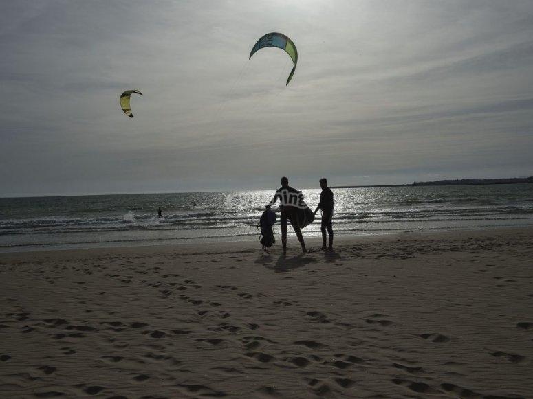 埃尔波多风筝冲浪