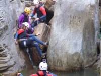 Canyoning route on the Paterna river kids 3h 30min