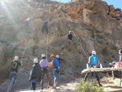 Escalada en Salto del Gallo con bocadillo y guía