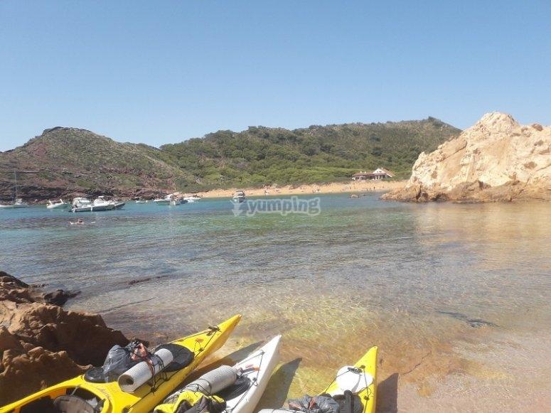 Ruta por la costa sur menorquina