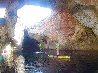 En la cova des Pont remando