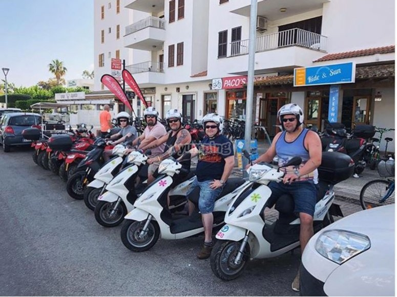 Ready for the route around the island