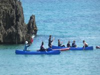 Paseo en kayak por Llanes
