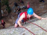 Inizio della scalata