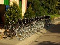Centro logistico biciclette