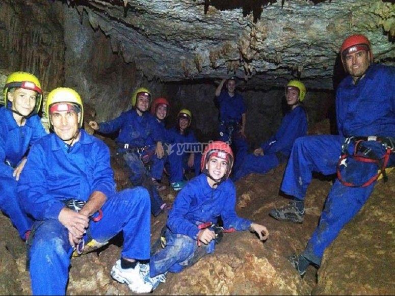 Inside a geological paradise
