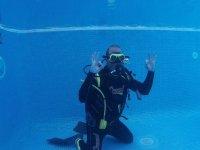 潜水洗礼深度6米1小时