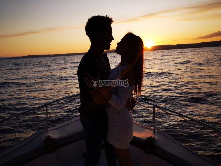 浪漫乘船游览