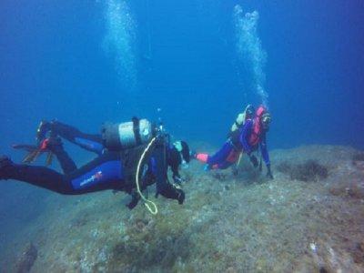 PADI露天潜水员18m in Villaricos