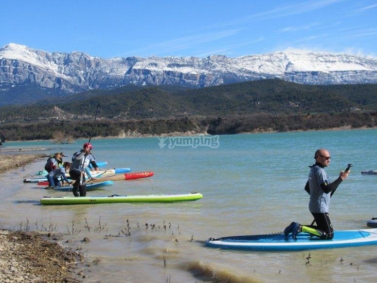 Salida de paddle surf