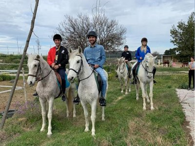 Horse riding route in the south of Madrid 1 hour
