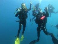 滨海略雷特4h从船上潜水洗礼