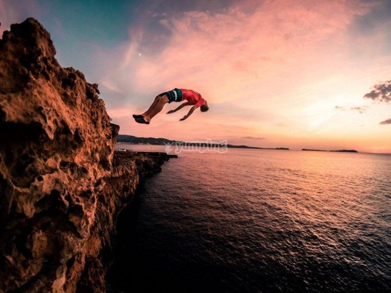 Viviendo Ibiza y sus playas