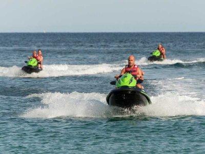 Tour en moto de agua hasta Isla de Es Vedrá 2horas