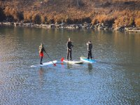 Route de paddle surf dans le réservoir de Valdecañas 1h30min