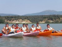 Parcours de canoë dans le réservoir de Valdecañas 1h30mi