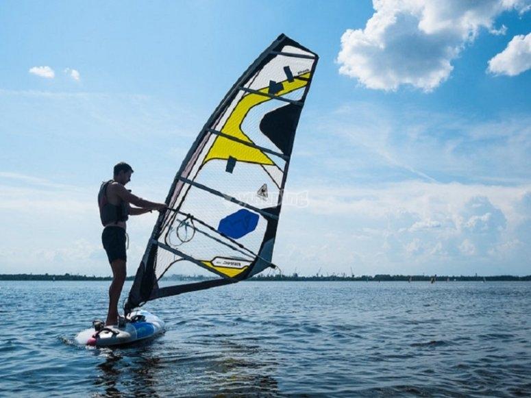 Descubriendo el windsurf
