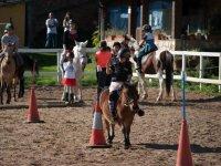 Campo 1/2 giornata inglese / equitazione a Trapagarán