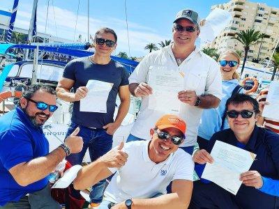 Licencia de navegación 6 metros eslora Estepona 6h