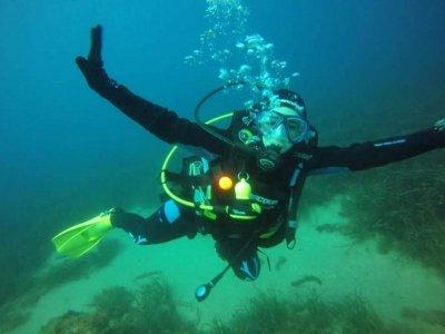 Night diving course in Lloret de Mar