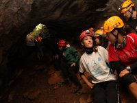 All'accesso alla grotta
