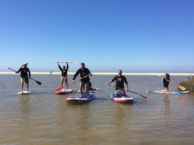 Travesía en paddle surf en Tarifa 2 horas