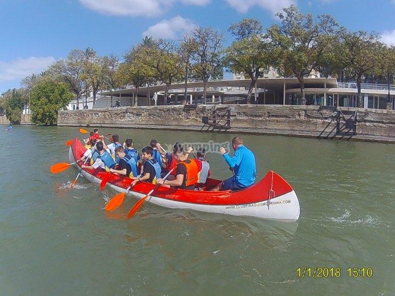 Ruta infantil en Canoas