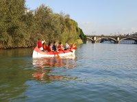 Tour en canoa para niños en río Guadalquivir 2 h