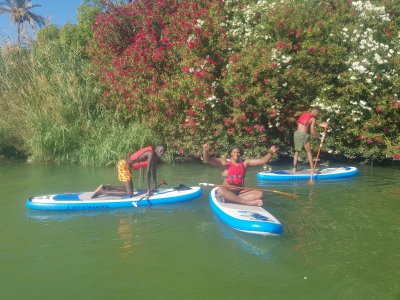 SUP equipment rental in Guadalquivir river 2 h