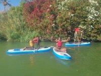 Alquiler equipo de SUP en río Guadalquivir 2 h