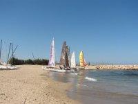 Sailing in Alicante