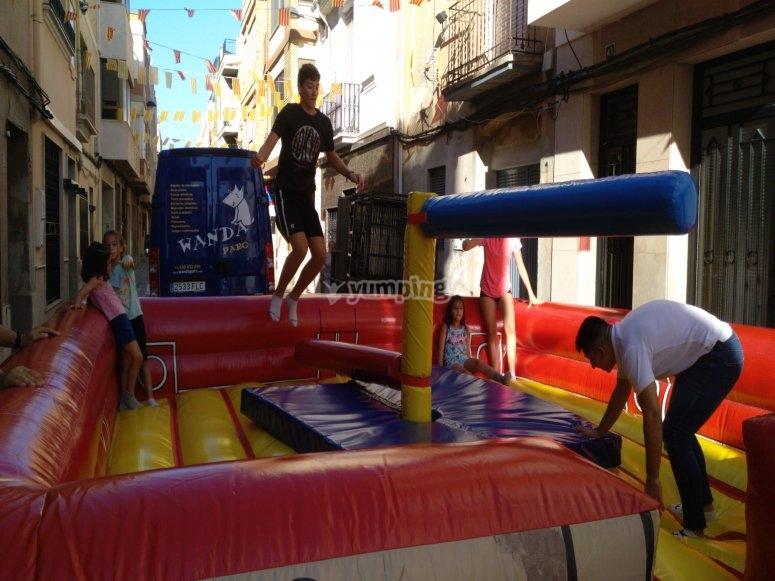 Celebrating the birthday in Vila-real