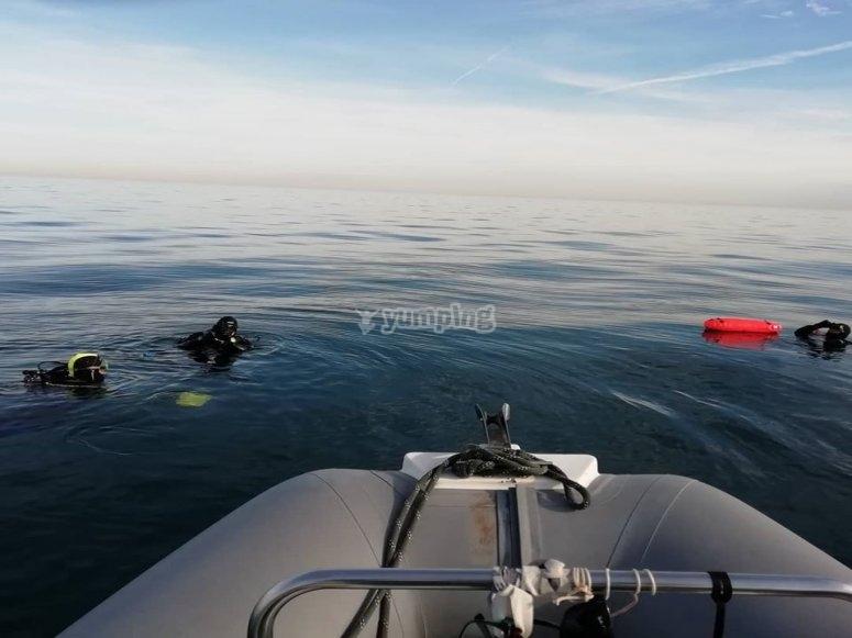 Denia潜水课程
