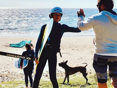 Clase privada de surf en Tarifa 2 horas