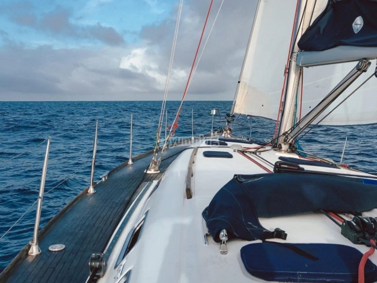 Navegando en el Puerto de Santa María
