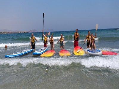 Paddle surf equipment rental in La Puntilla 1 hour
