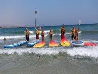 Alquiler material paddle surf en La Puntilla 1hora