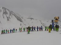 Ski classes for children in Astún