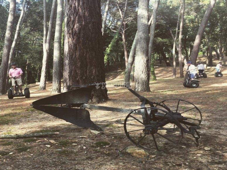 电动自行车发现的Maresme路线