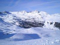 La stazione di Andorra neve