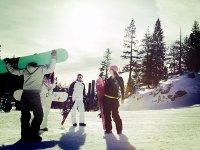准备滑雪课程