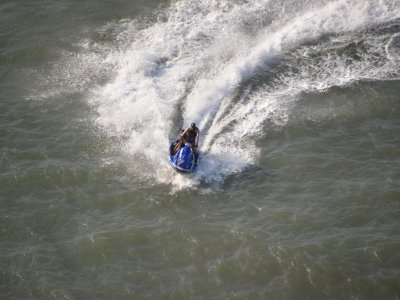 Guided two-seater jet ski tour in Riaño 1 hour